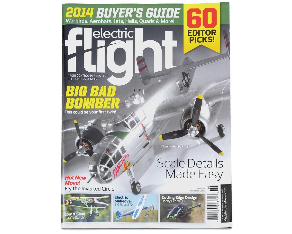 Electric Flight Magazine 2014 Buyer's Guide - January 2014 Issue