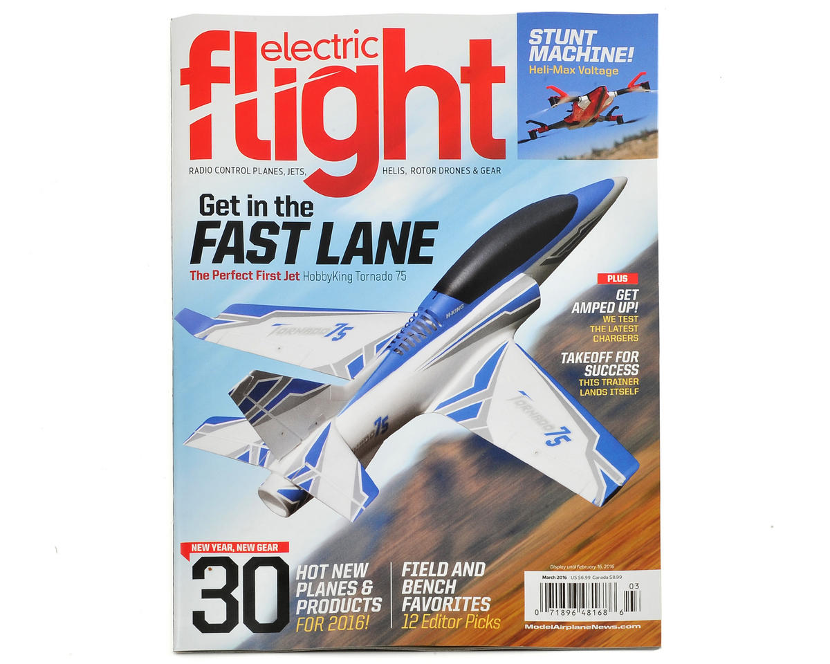 Electric Flight Magazine - March 2016 Issue