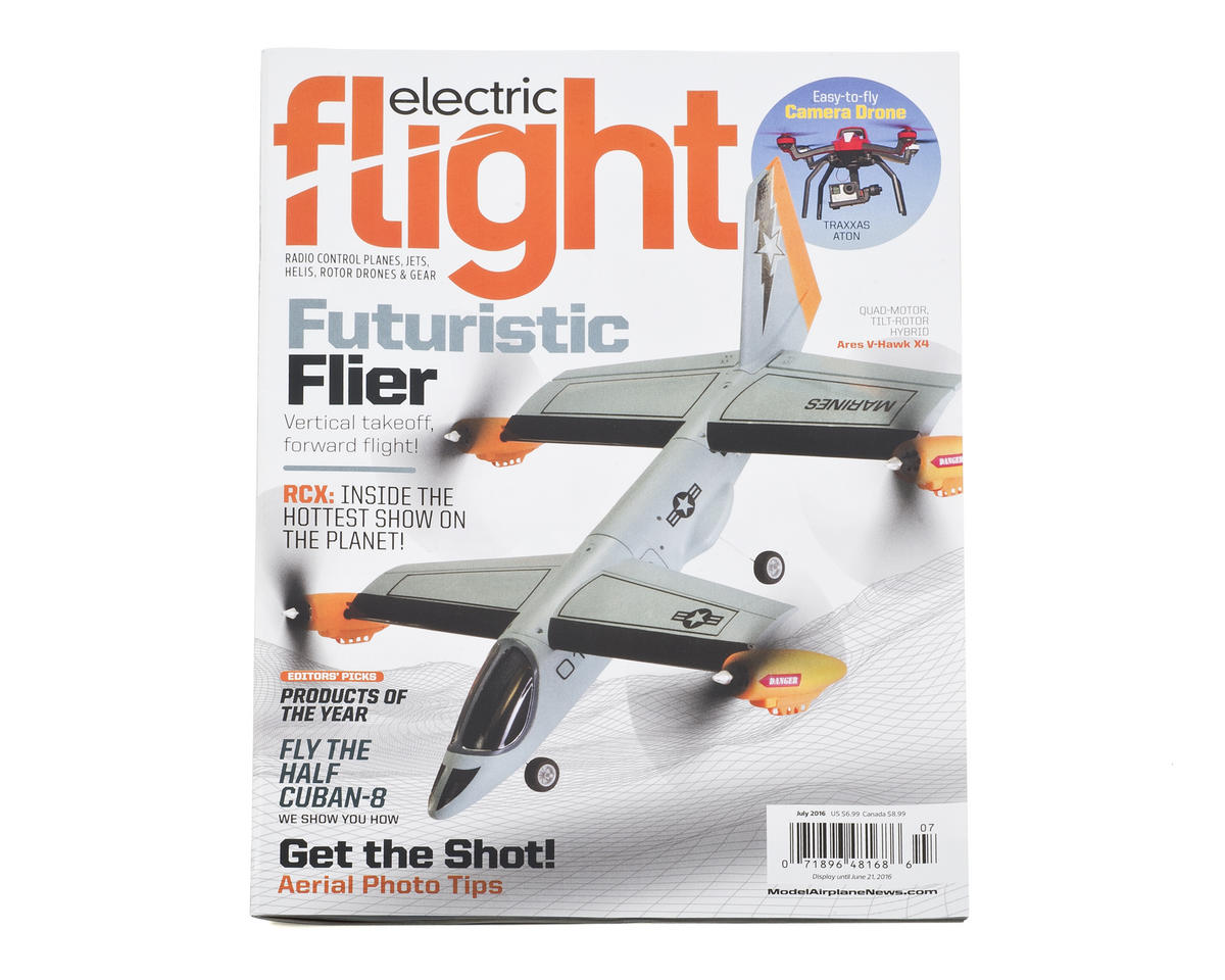 Electric Flight Magazine - June 2016 Issue