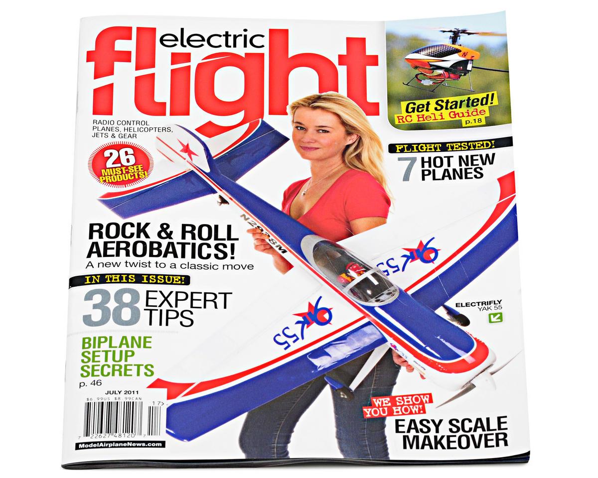 electric flight magazine formerly backyard flyer july 2011