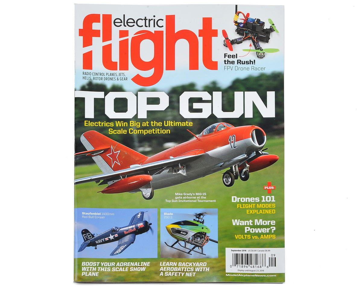 Electric Flight Magazine - Sept 2016 Issue