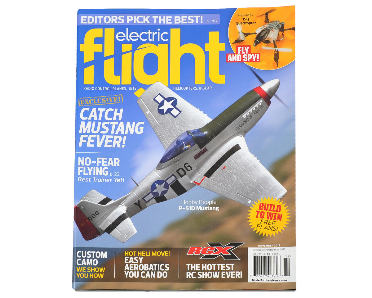 Electric Flight Magazine (formerly Backyard Flyer) - November 2013 Issue