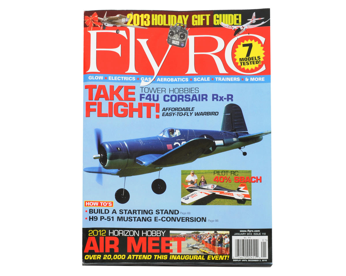 Fly RC Magazine - January 2013 Issue