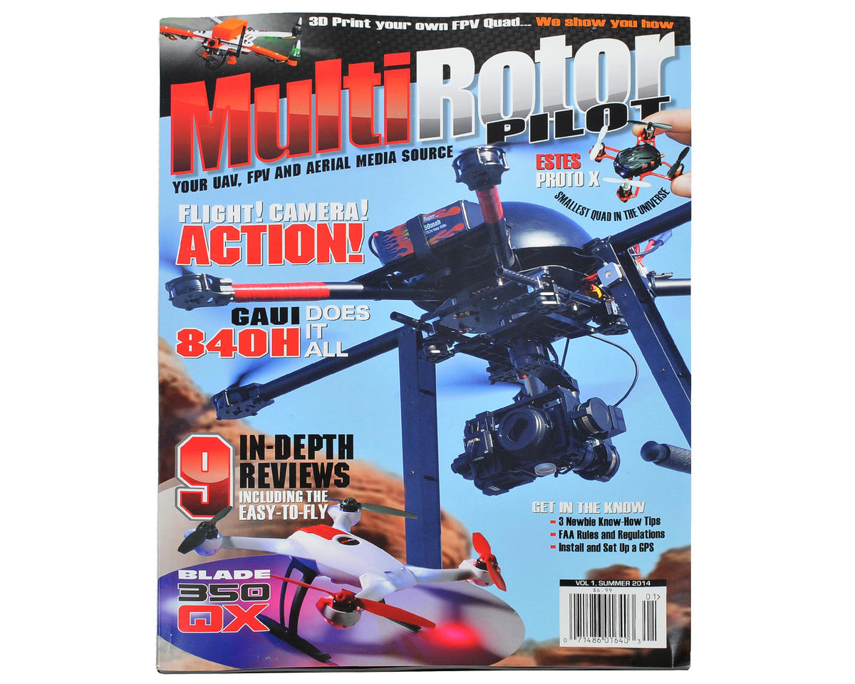 MultiRotor Pilot Magazine Vol. 1 - Summer 2014
