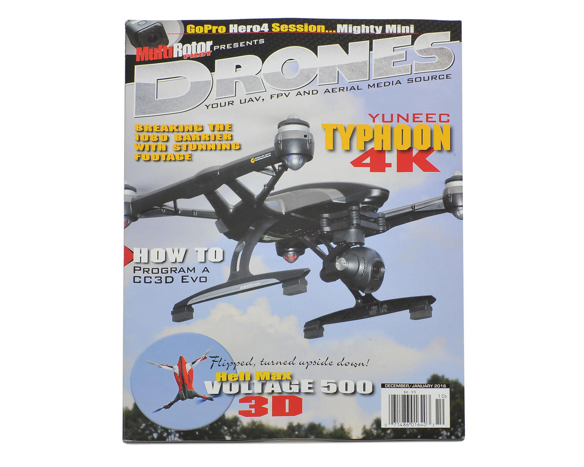 "MultiRotor Pilot ""Drones"" Magazine Vol.9 - Dec/Jan 2016"