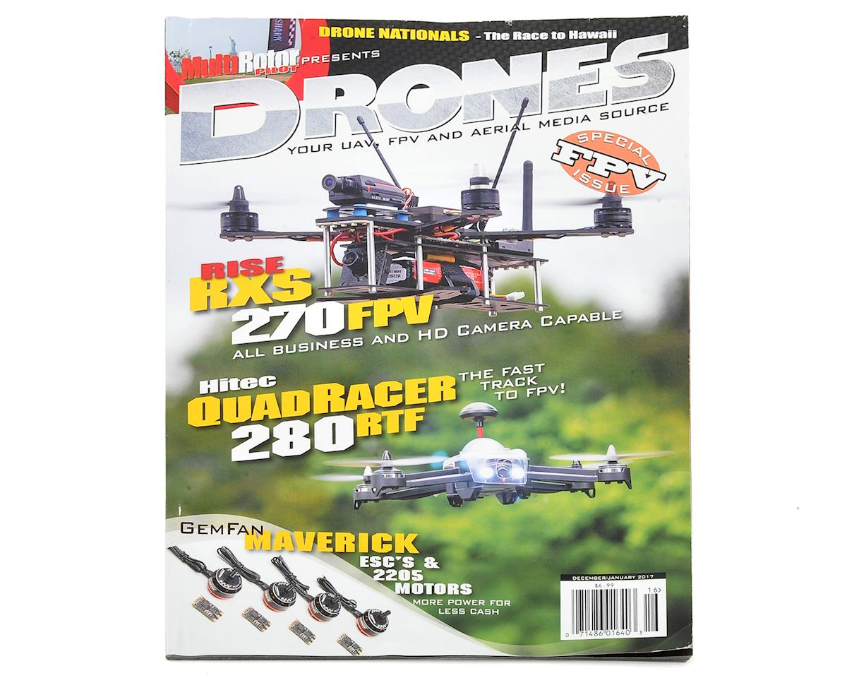 Drones Magazine Vol.16 - Dec/Jan 2017 by MultiRotor Pilot