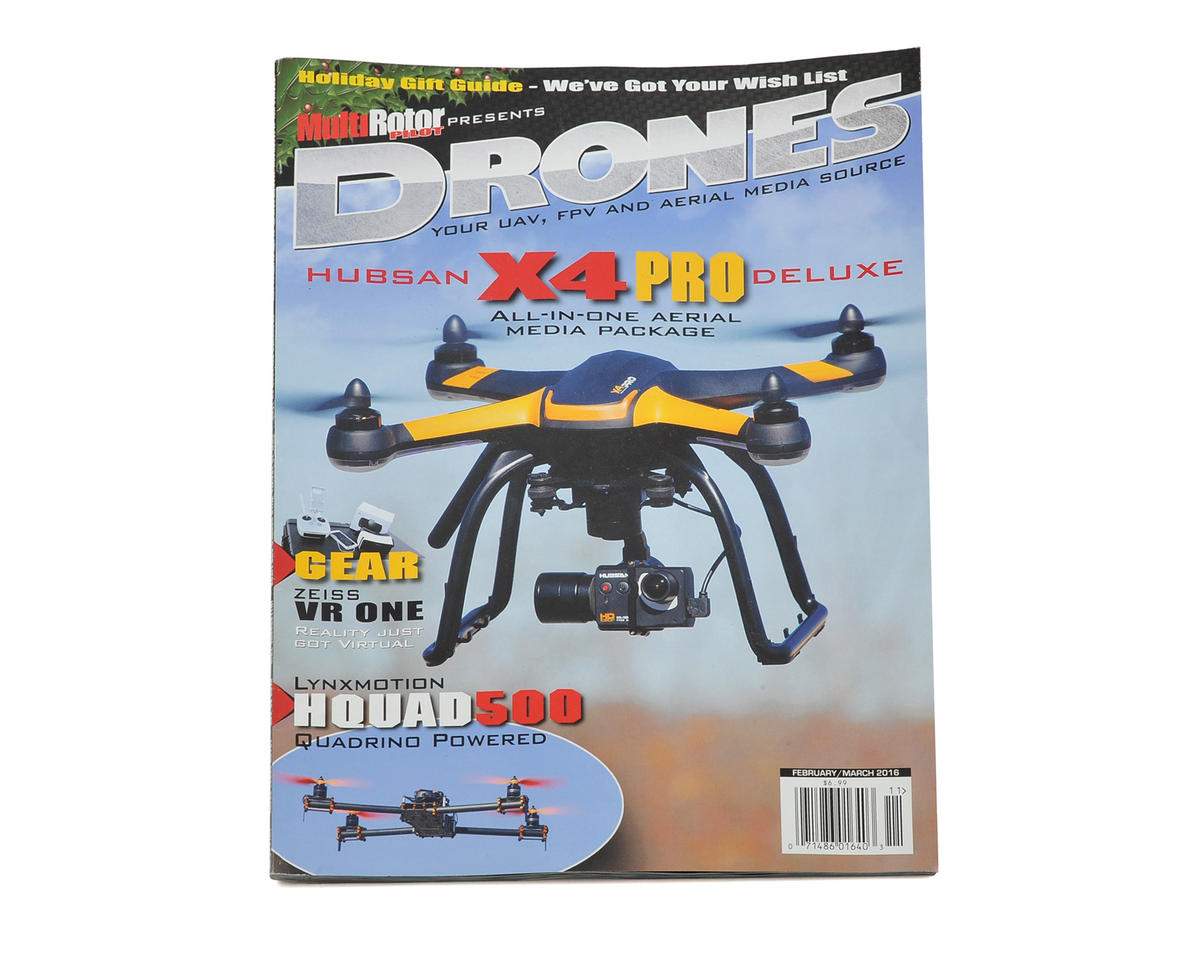 "MultiRotor Pilot ""Drones"" Magazine Vol.11 - February/March 2016"