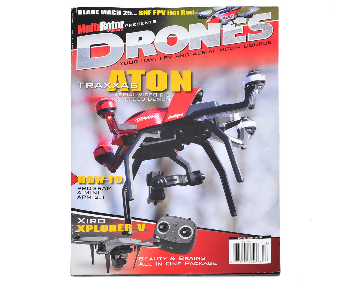 "MultiRotor Pilot ""Drones"" Magazine Vol.12 - April/May 2016"
