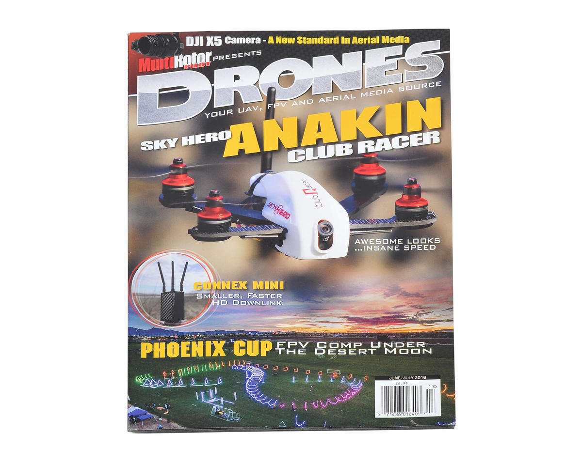 """Drones"" Magazine Vol.13 - June/July 2016 by MultiRotor Pilot"