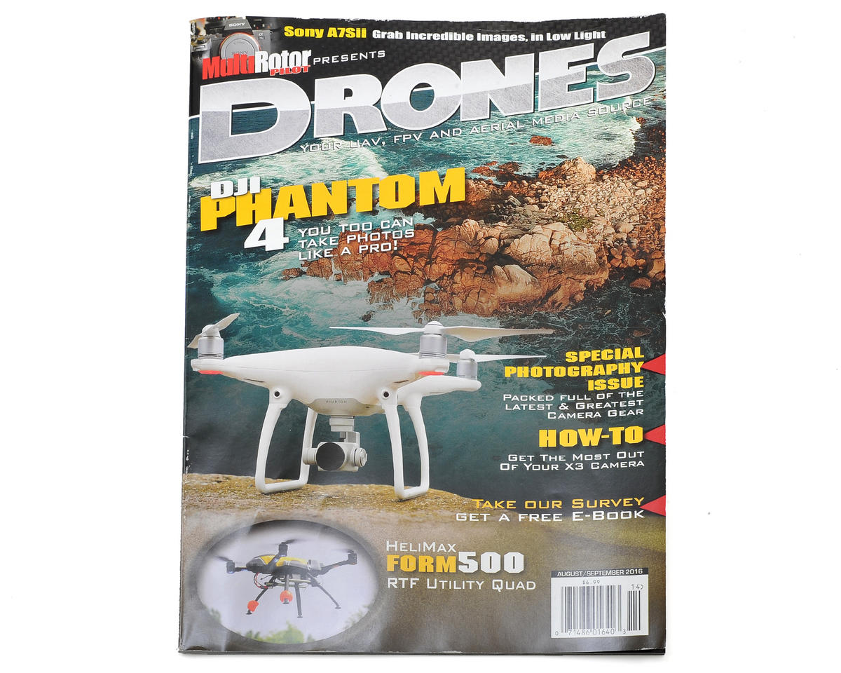 "MultiRotor Pilot ""Drones"" Magazine Vol.14 - August/September 2016"