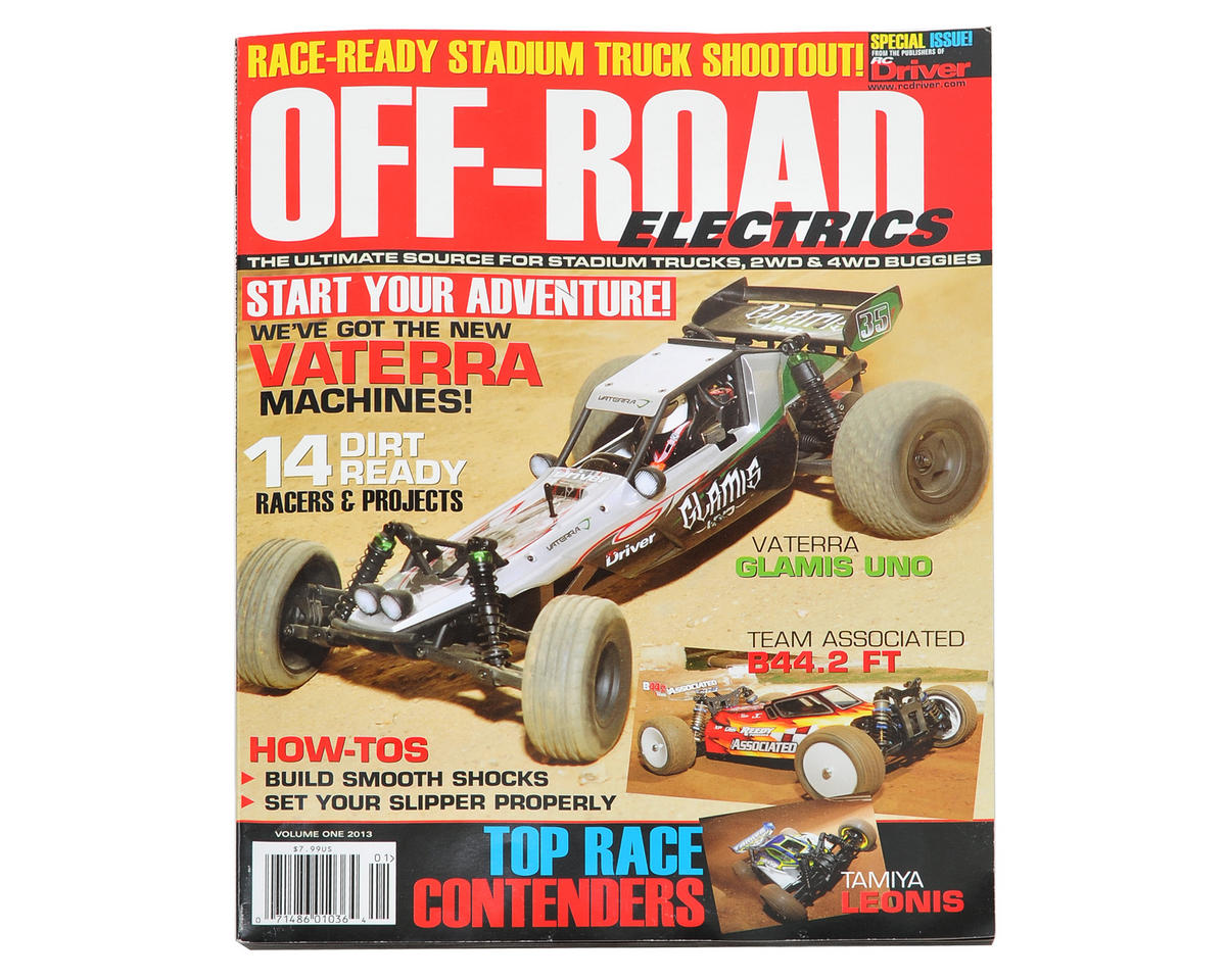 "RC Driver RC Off-Road Electrics ""Volume 1"" Magazine - 2013 Issue"