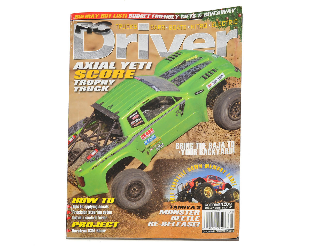 RC Driver Magazine - January 2016 Issue