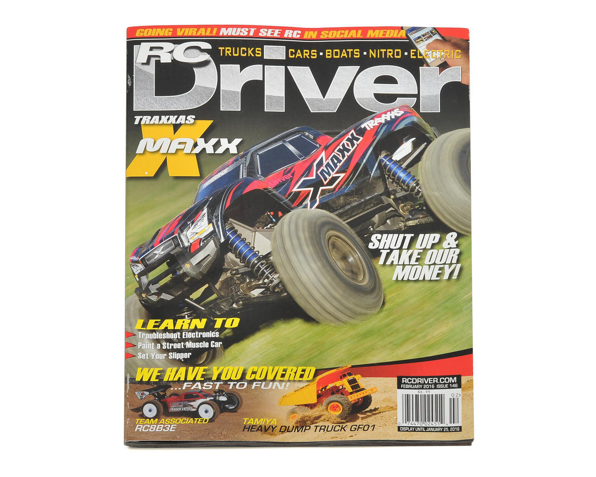 RC Driver Magazine - February 2016 Issue