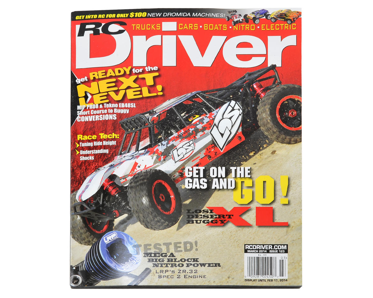 RC Driver Magazine - March 2014 Issue