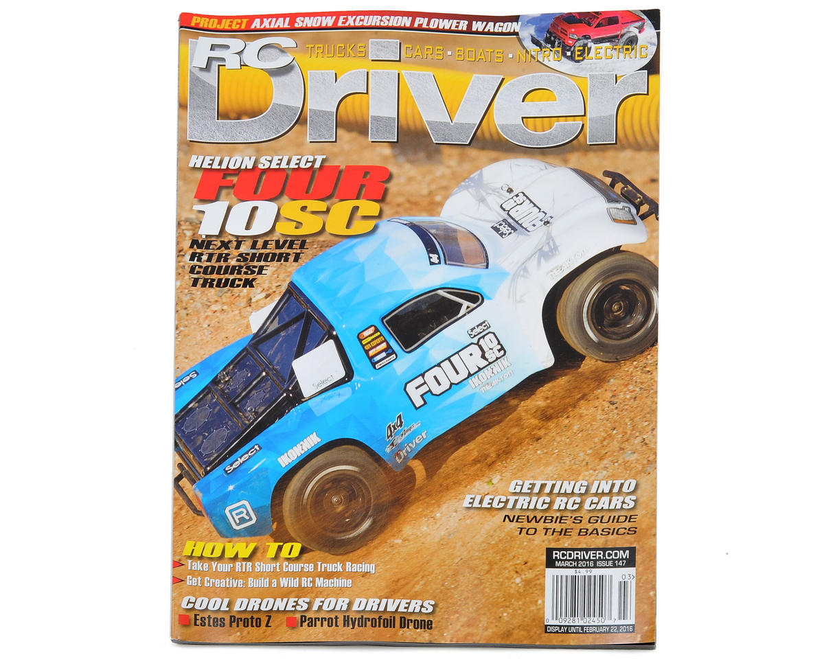 RC Driver Magazine - March 2016 Issue