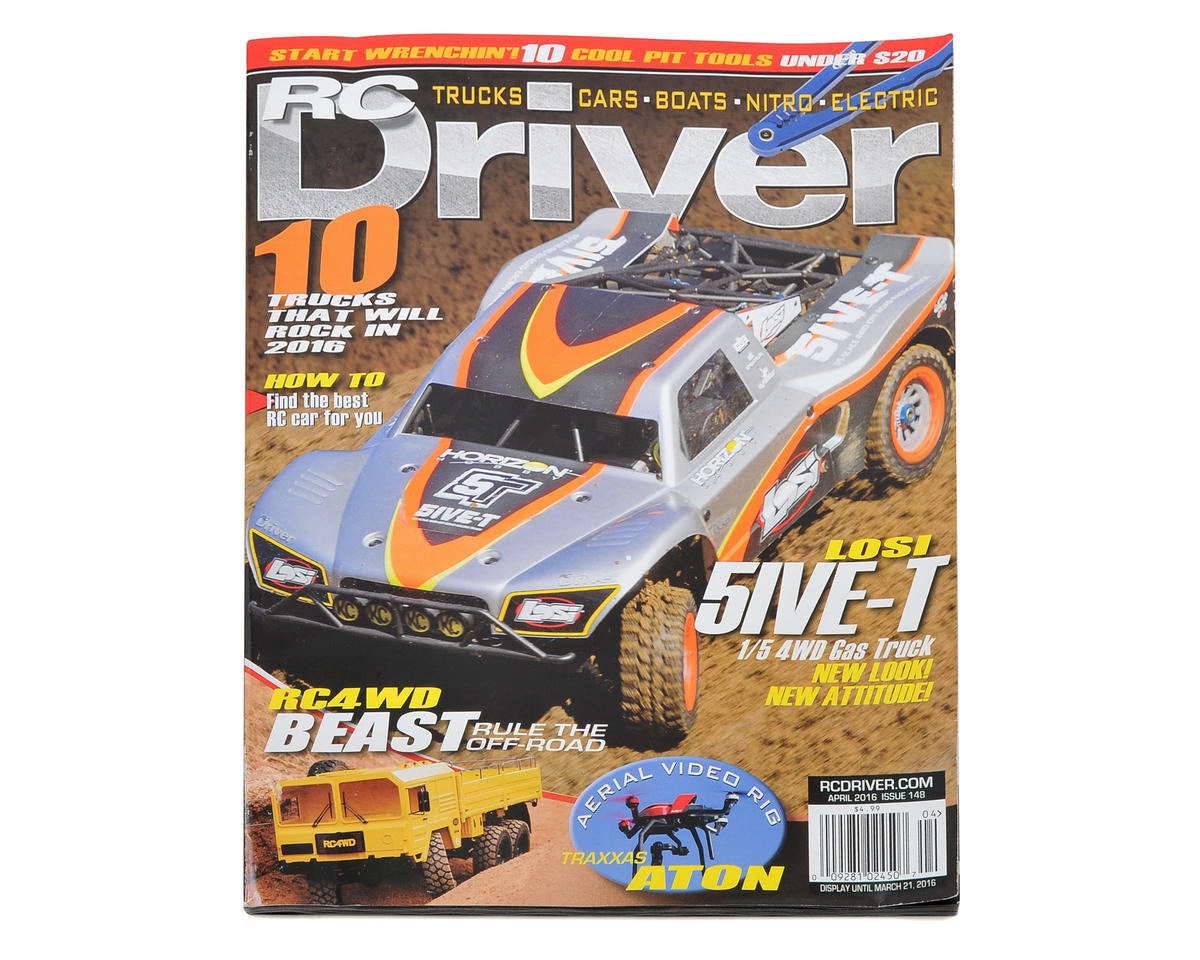 RC Driver Magazine - April 2016 Issue