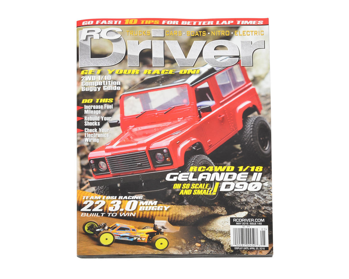 RC Driver Magazine - May 2016 Issue