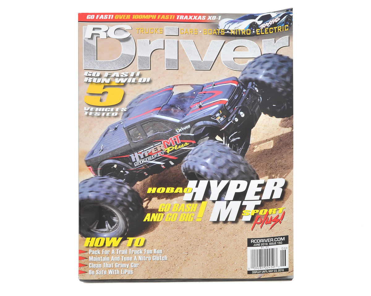RC Driver Magazine - June 2016 Issue