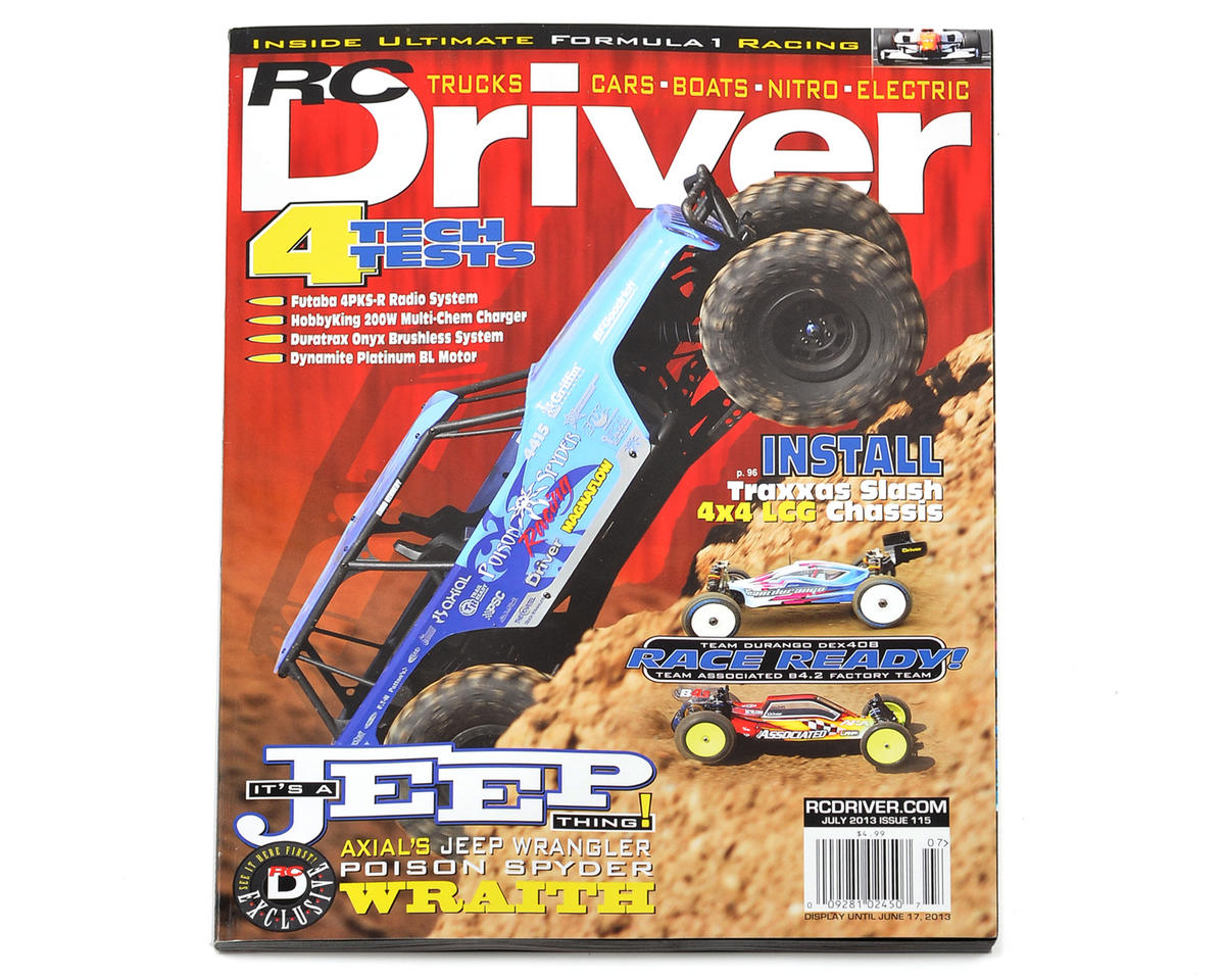RC Driver Magazine - July 2013 Issue