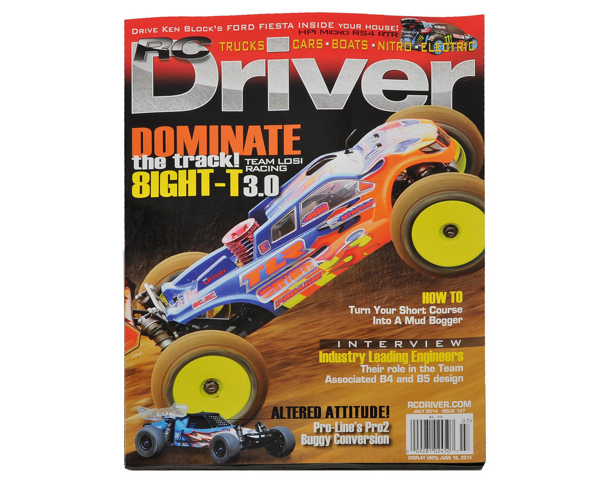 RC Driver Magazine - July 2014 Issue