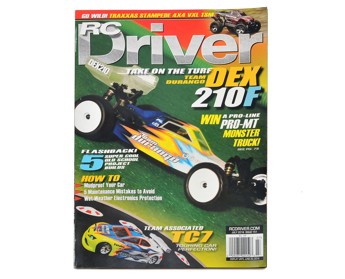 RC Driver Magazine - July 2016 Issue