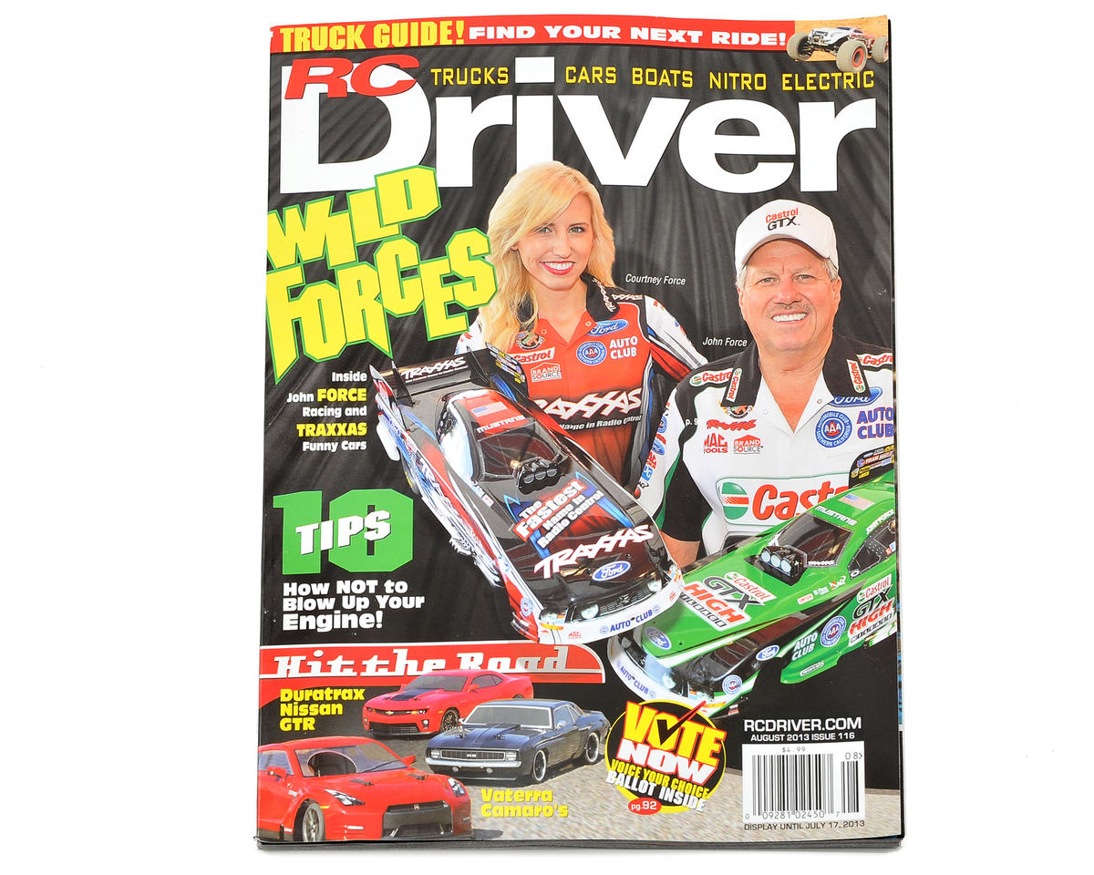 RC Driver Magazine - August 2013 Issue