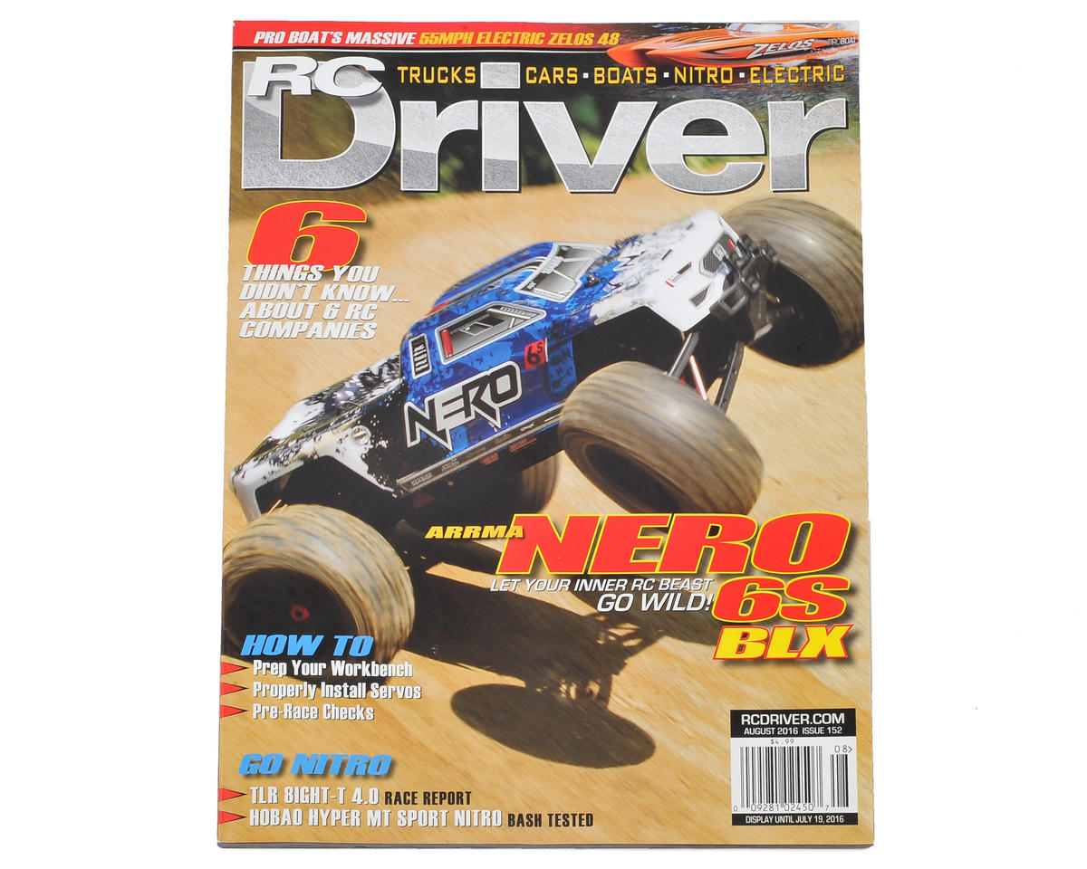 RC Driver Magazine - August 2016 Issue