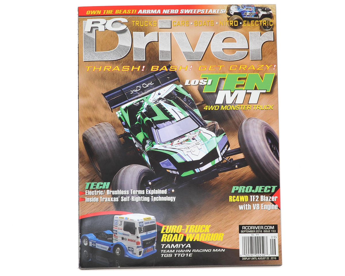 RC Driver Magazine - September 2016 Issue