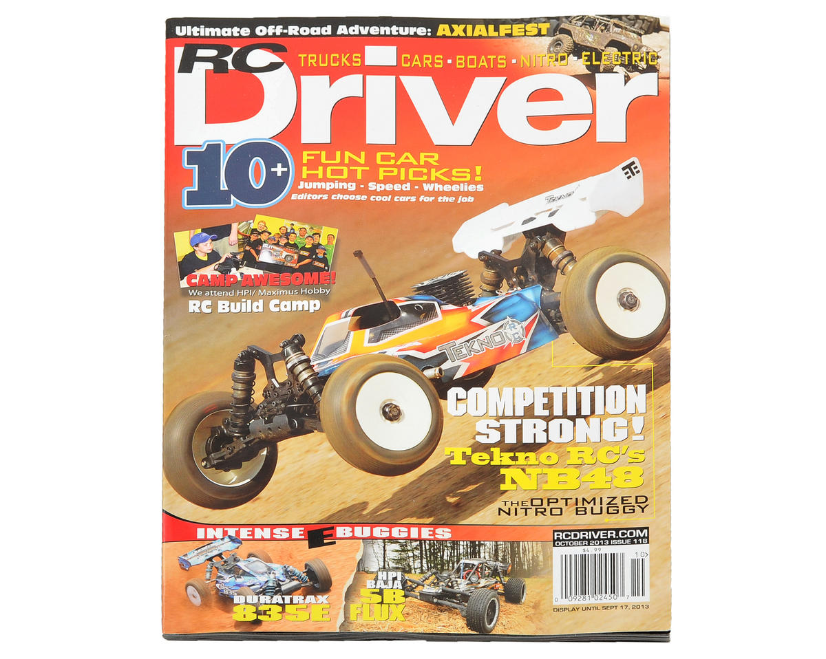 RC Driver Magazine - October 2013 Issue