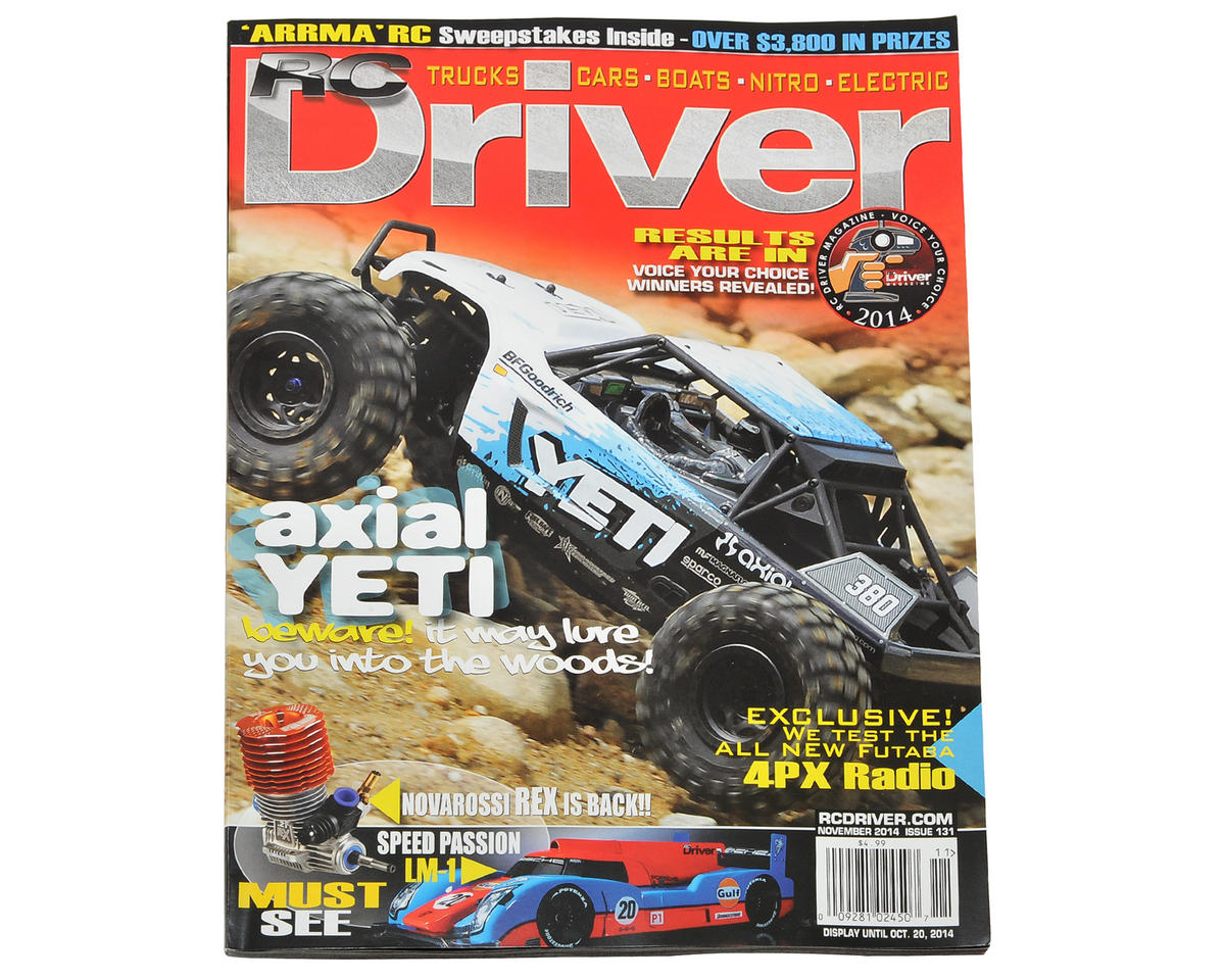 RC Driver Magazine - November 2014 Issue
