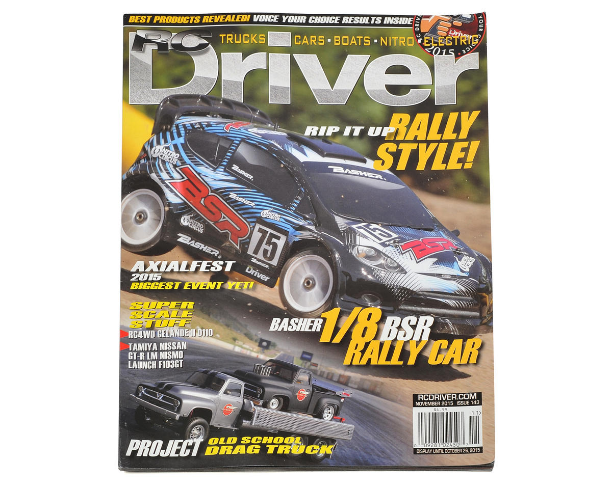 RC Driver Magazine - November 2015 Issue
