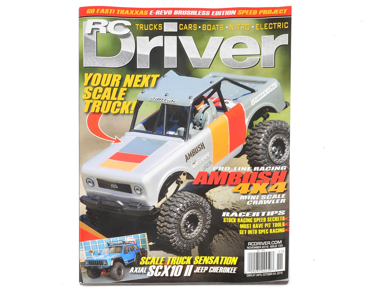 RC Driver Magazine - November 2016 Issue