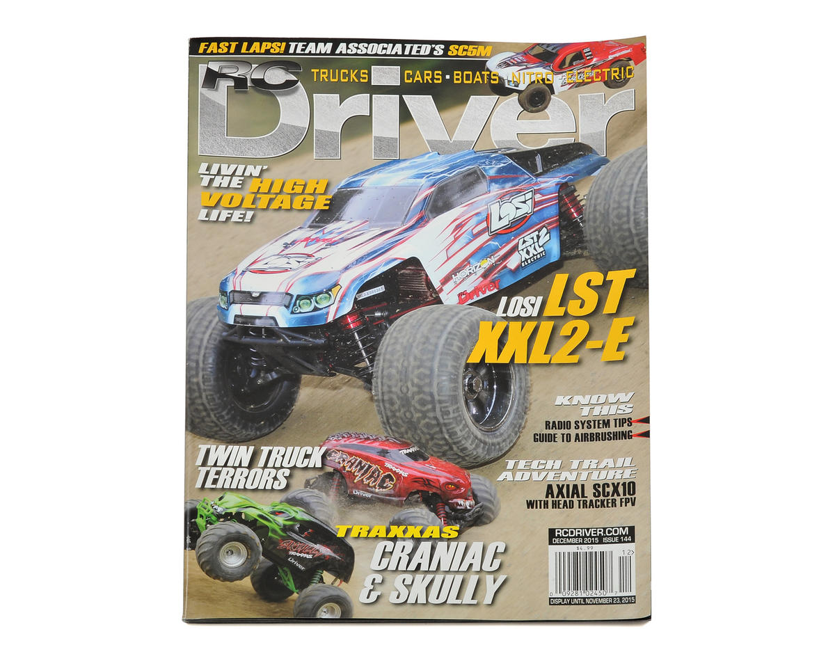 RC Driver Magazine - December 2015 Issue