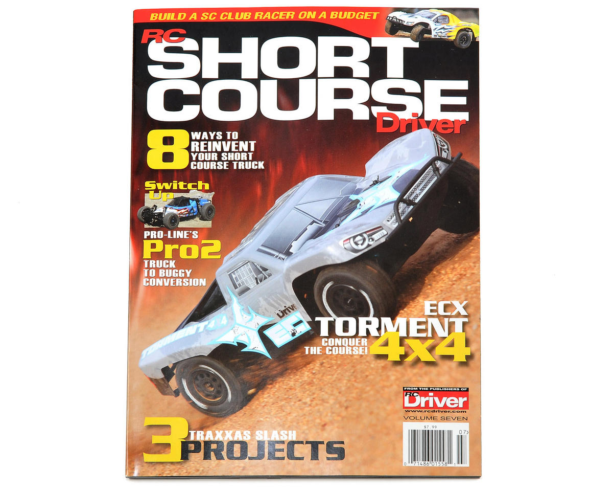 "RC Driver Short Course ""Volume 7"" Magazine - 2014 Issue"