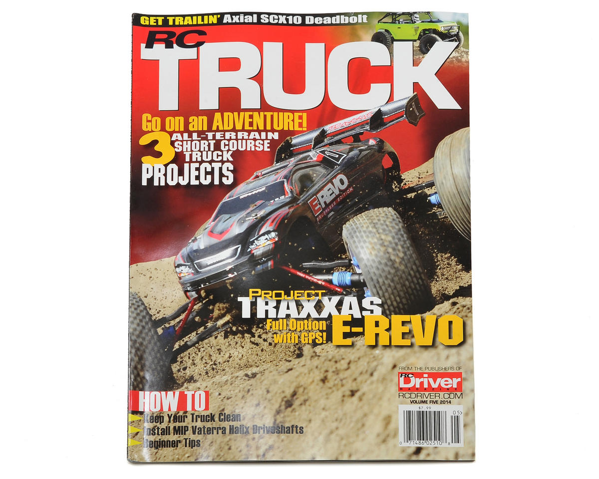 RC Driver RC Truck Volume 5 Special Issue Magazine - 2014 Issue