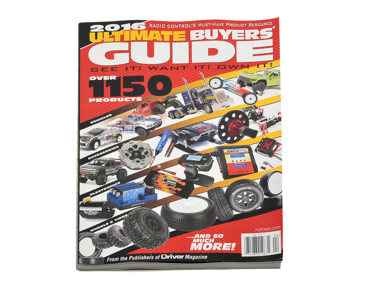 RC Driver Ultimate Buyers Guide Magazine - 2016 Issue