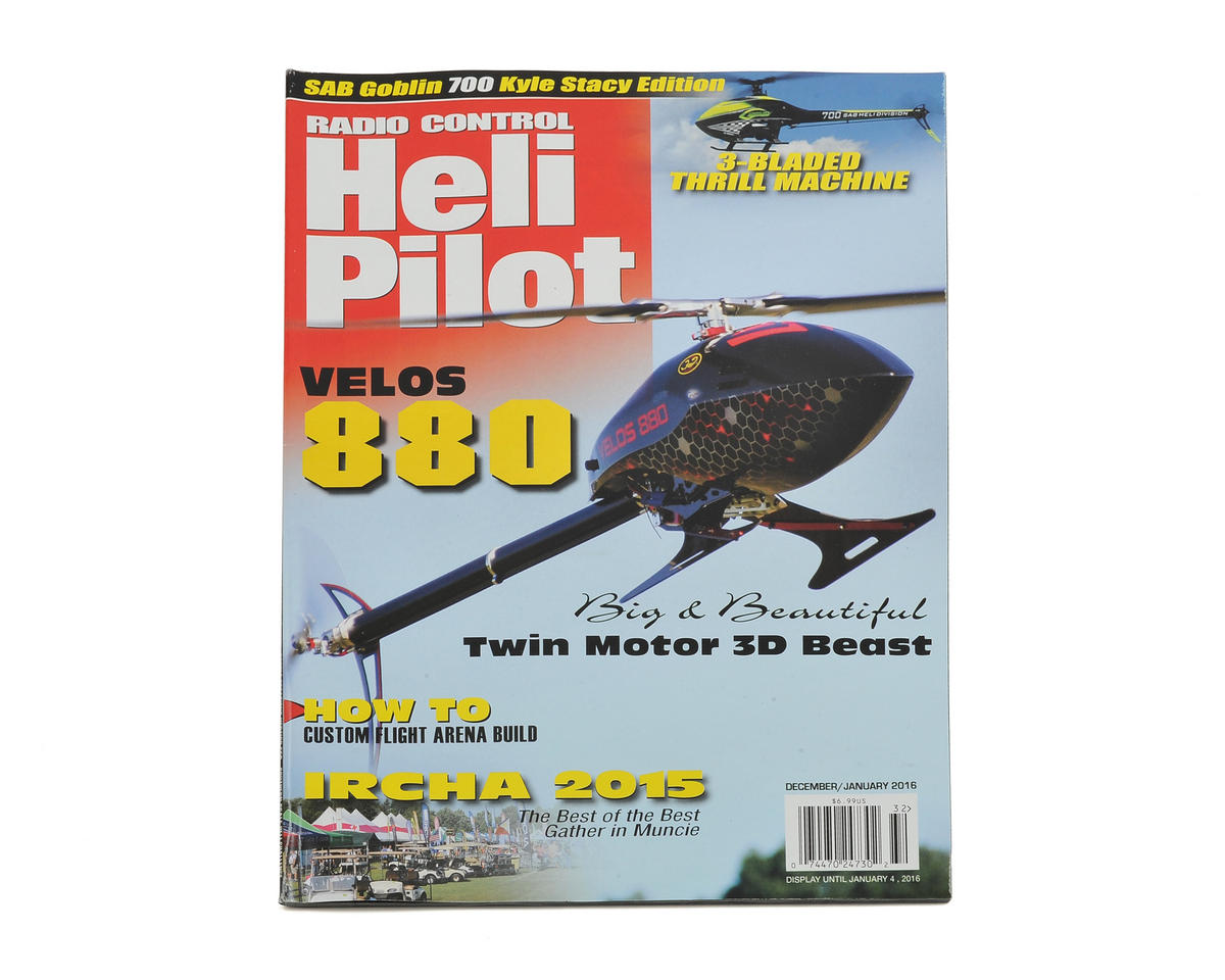 RC Heli Pilot Magazine - December/January 2016