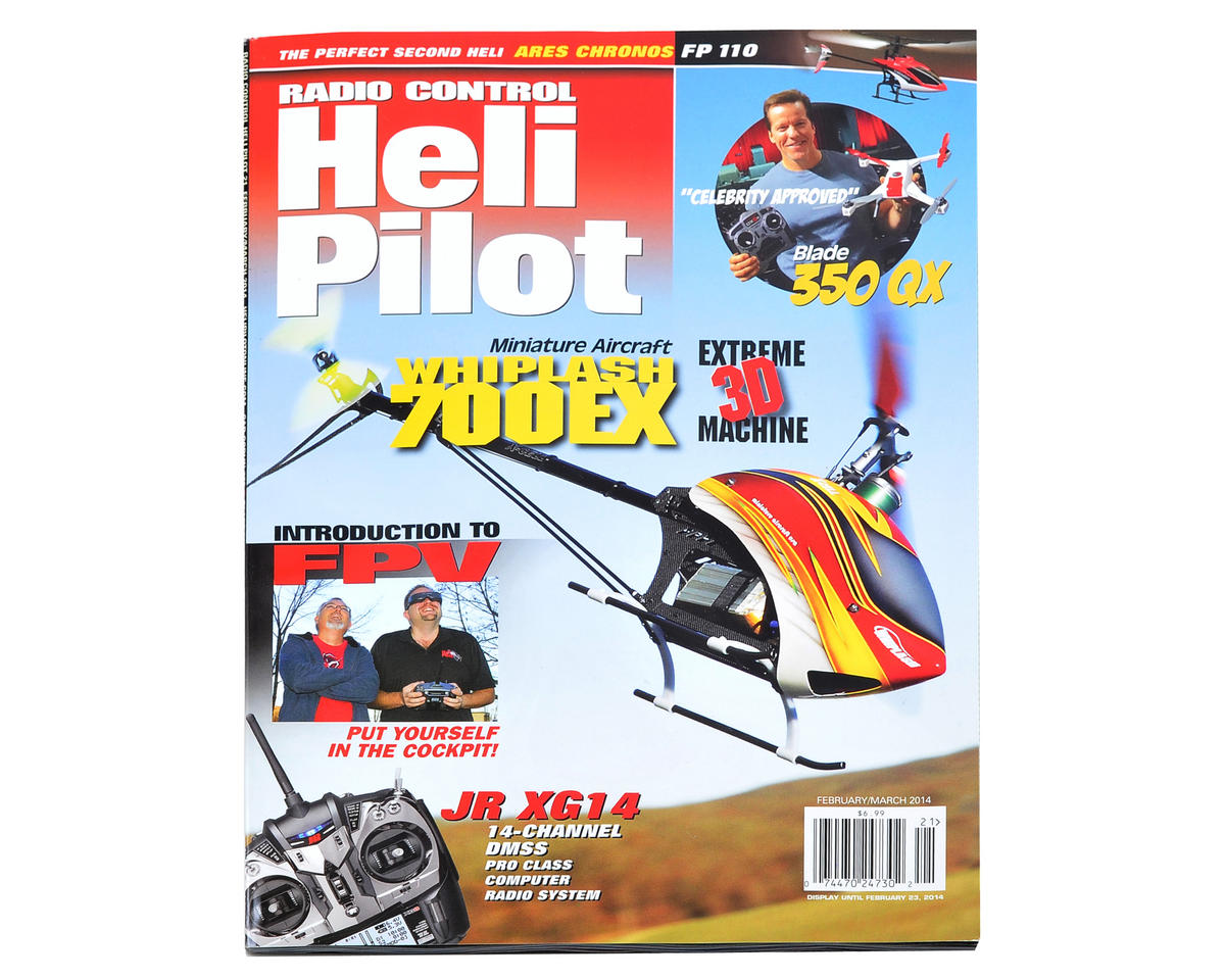RC Heli Pilot Magazine - February/March 2014