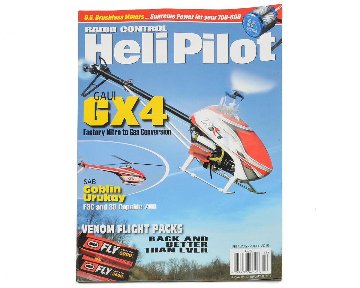 RC Heli Pilot Magazine - February/March 2016