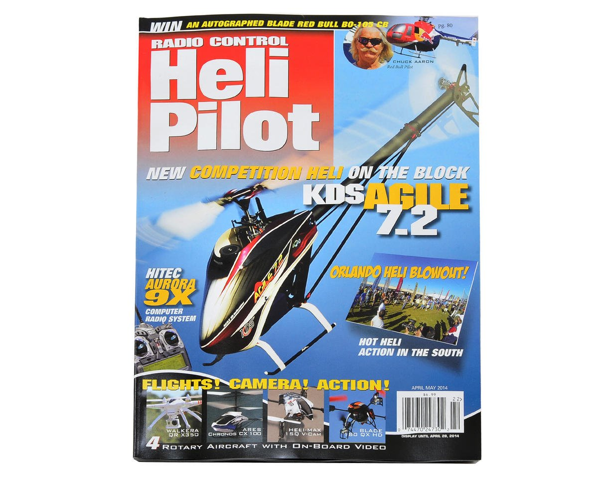 RC Heli Pilot Magazine - April/May 2014