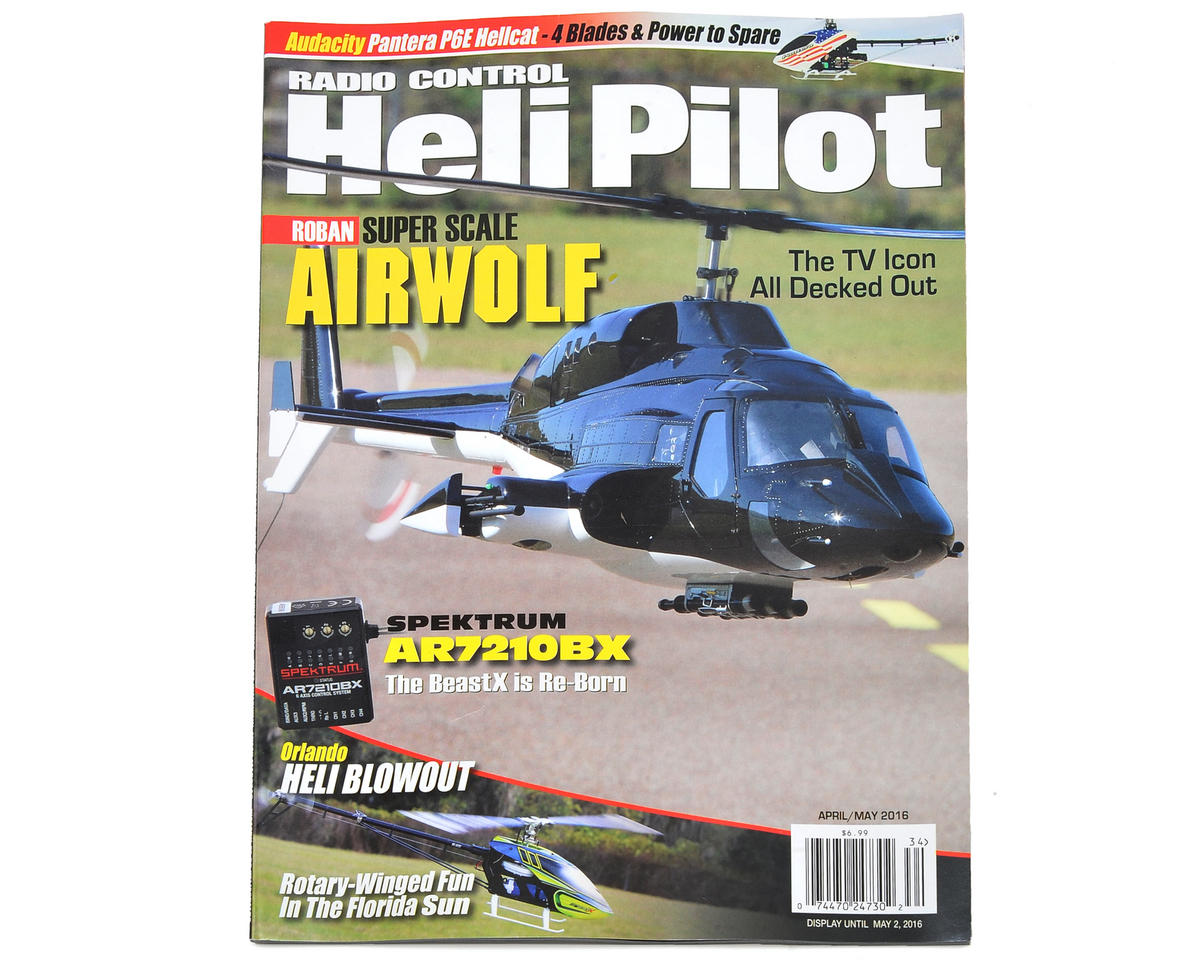 RC Heli Pilot Magazine - April/May 2016