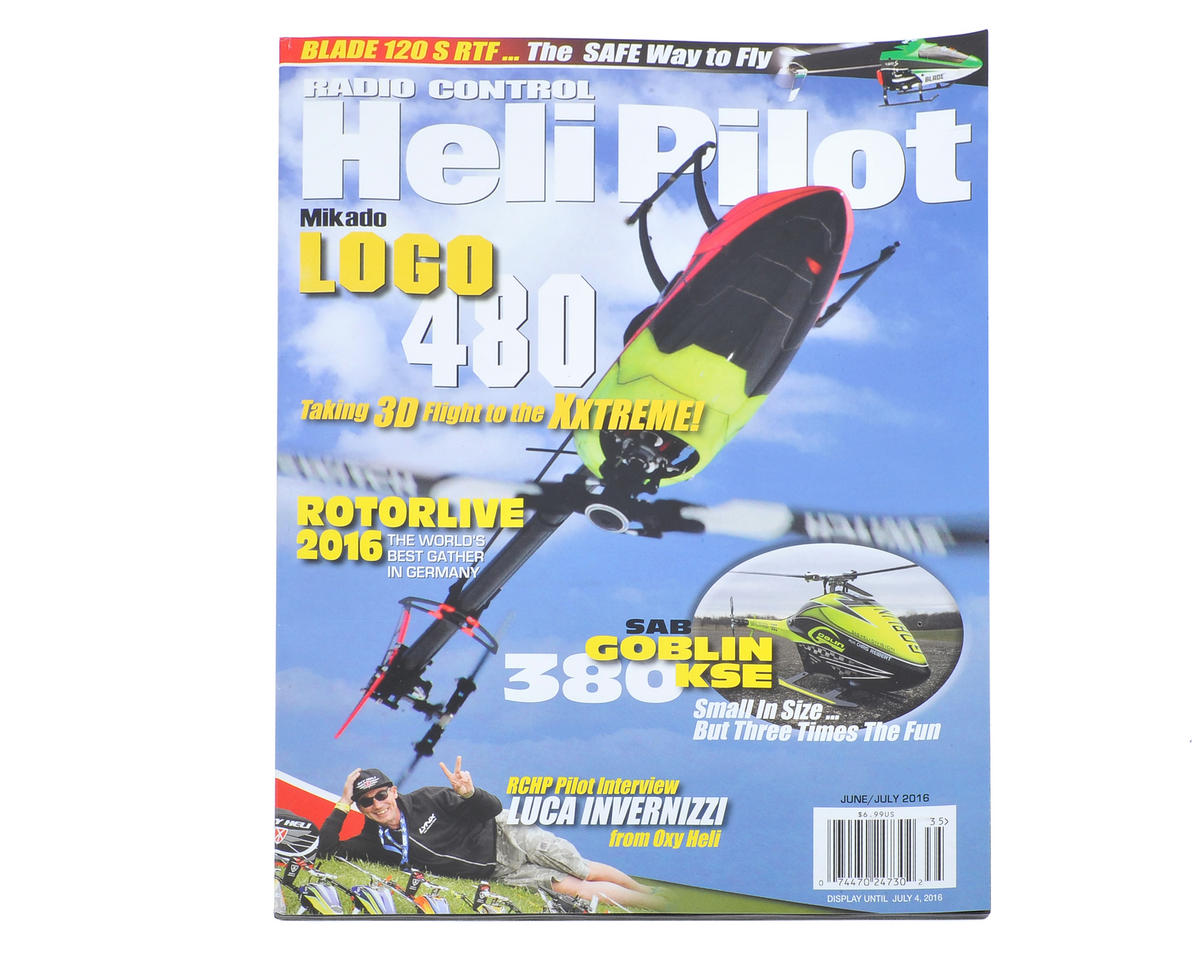 RC Heli Pilot Magazine - June/July 2016