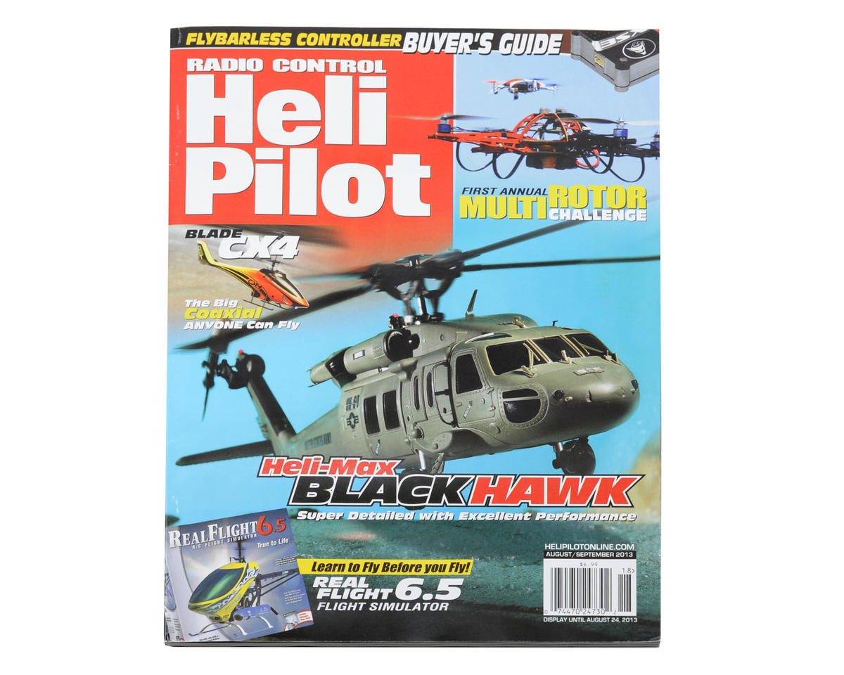RC Heli Pilot Magazine - August/Sept 2013