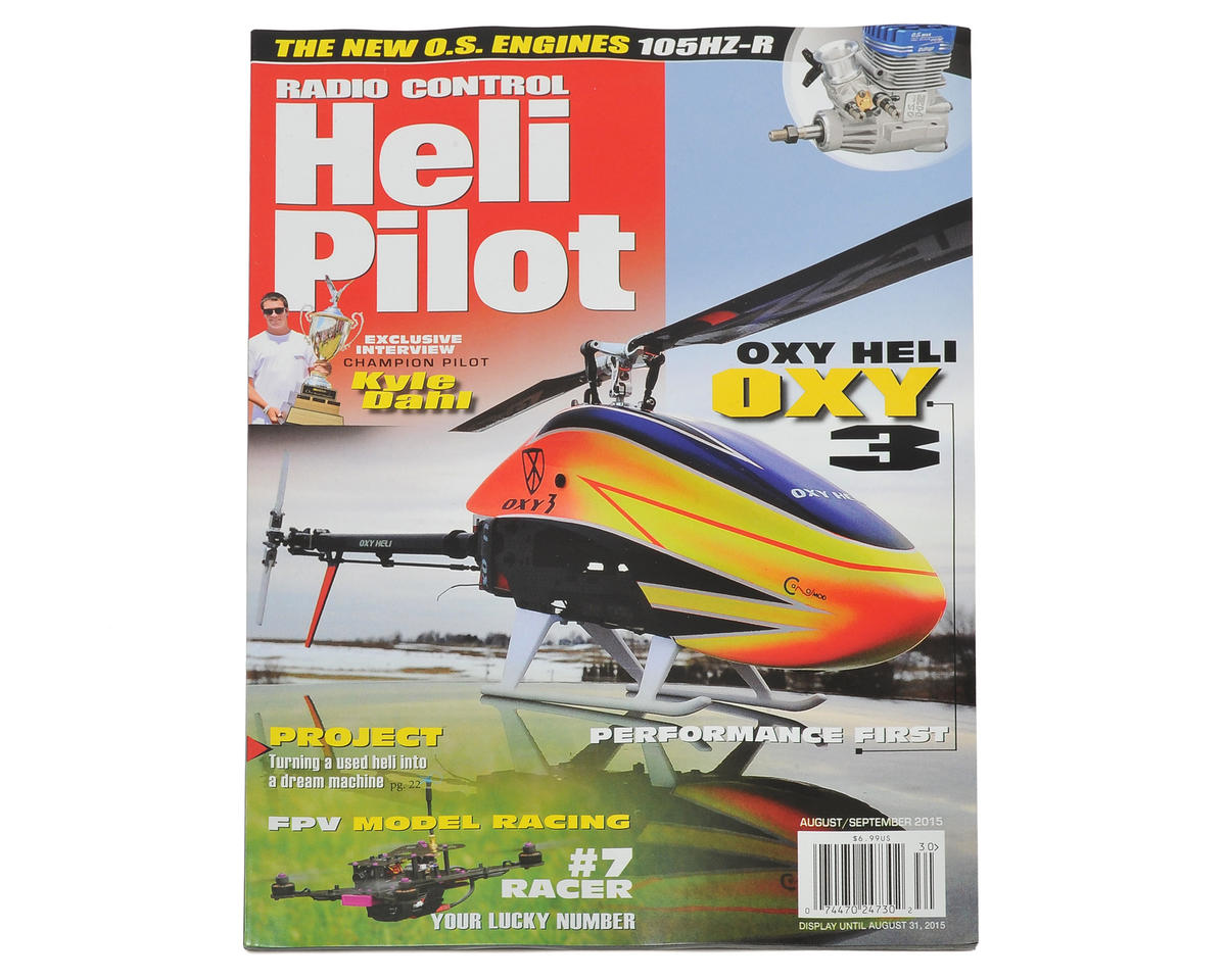 RC Heli Pilot Magazine - August/September 2015