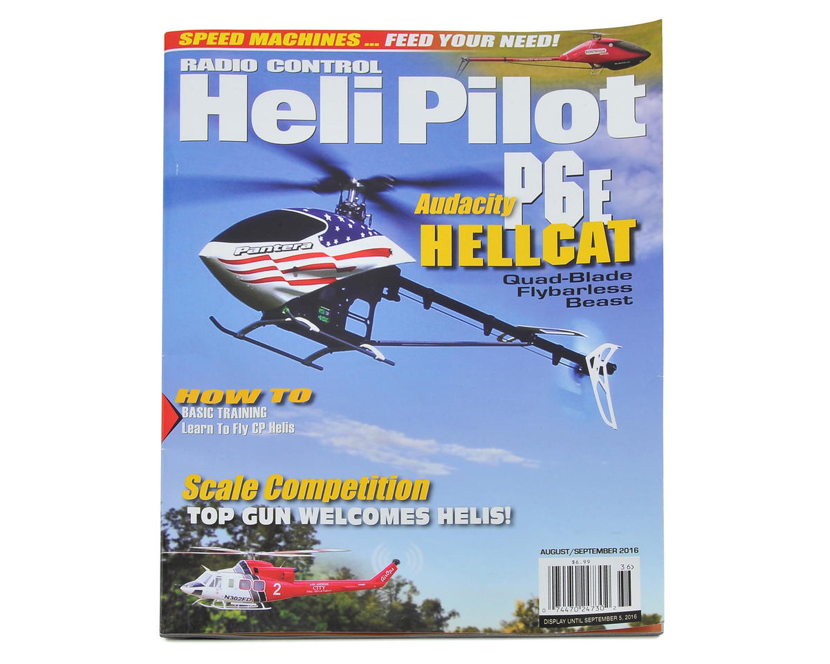 RC Heli Pilot Magazine - August/September 2016