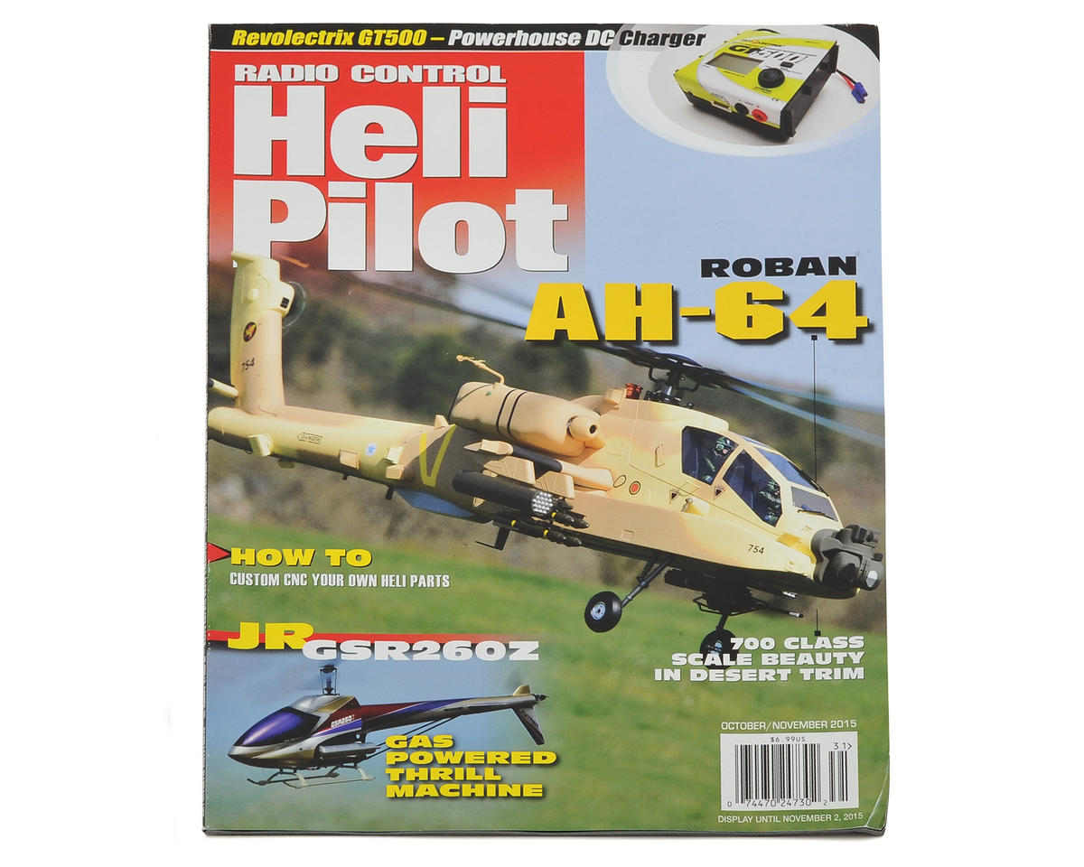 RC Heli Pilot Magazine - October/November 2015