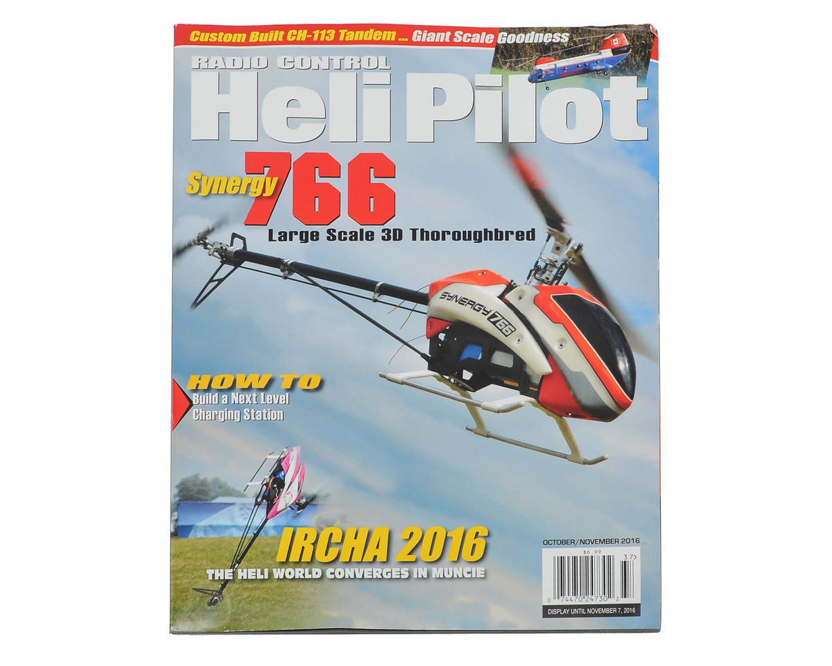 RC Heli Pilot Magazine - October/November 2016