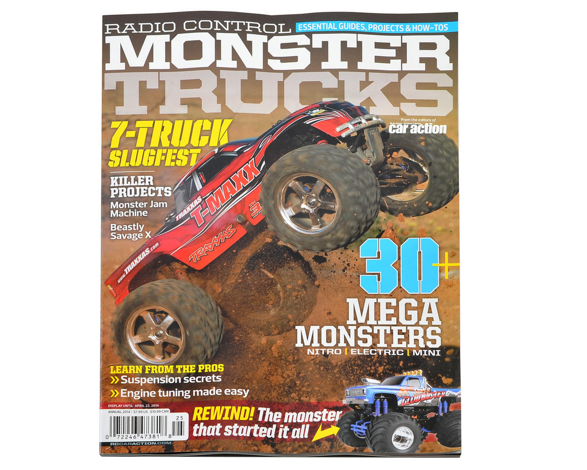 Radio Control Car Action Monster Trucks Magazine - 2014 Annual Issue
