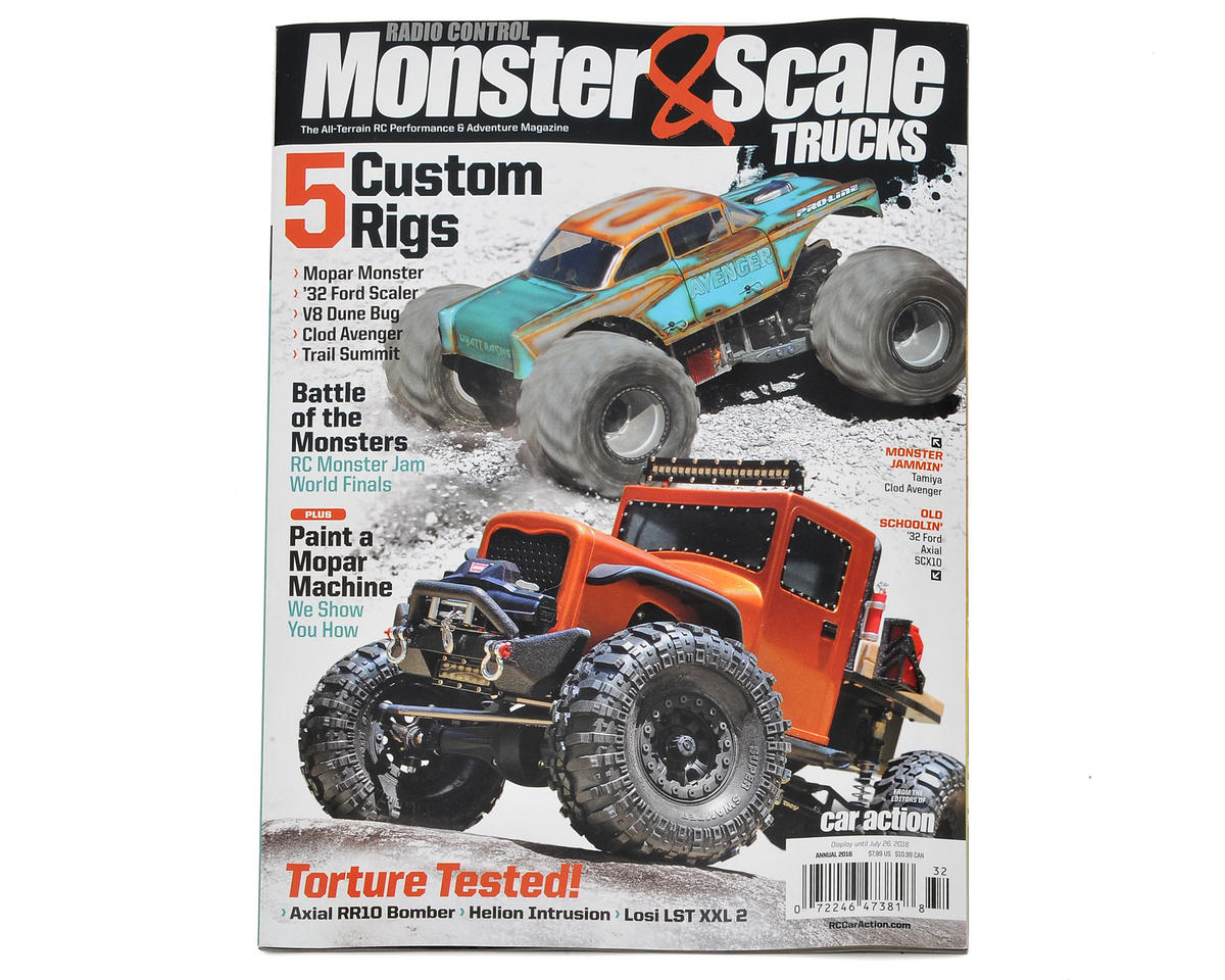 "Radio Control Car Action Magazine ""Monster & Scale Trucks"" Special Issue - 2016"