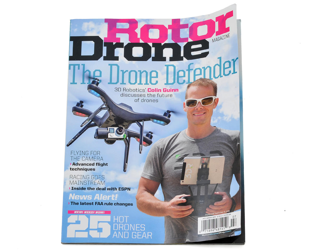 Rotor Drone Magazine - July/August 2016